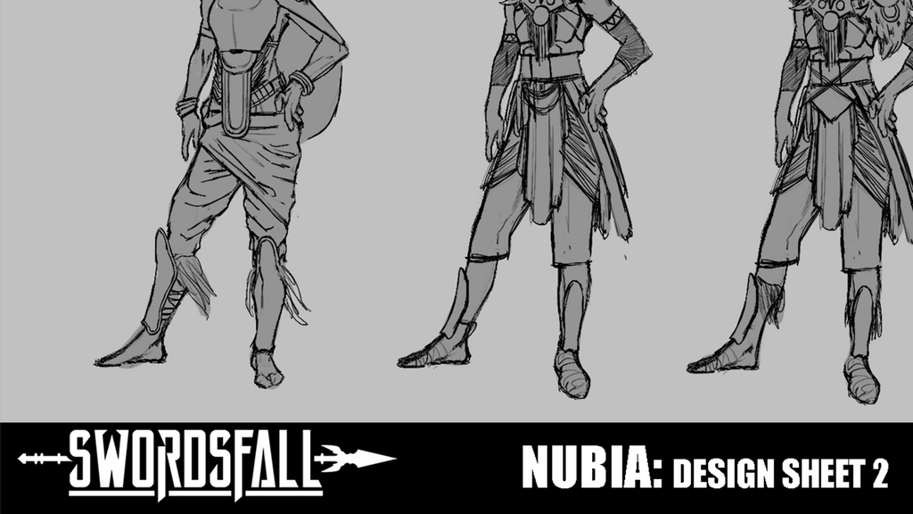Patreon Exclusive - Nubia Design Sheet #2
