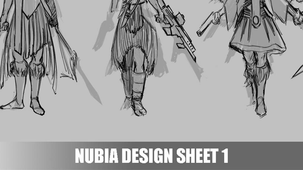 Patreon Exclusive - Nubia Concept Design Sheet 1