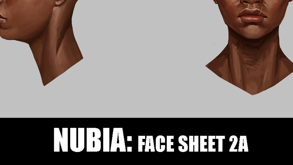 Patreon Exclusive - Nubia Face Sheet 2A