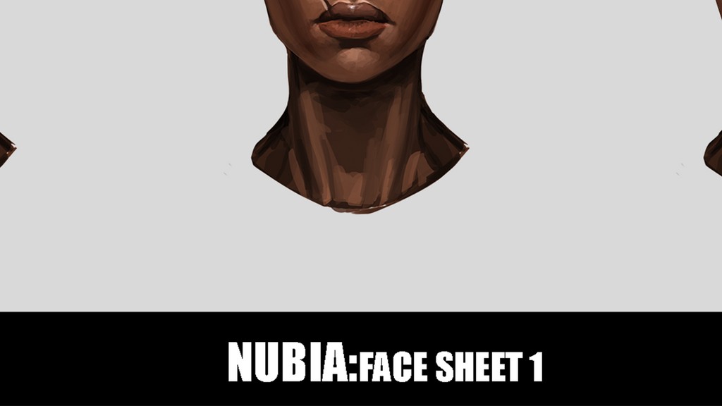 Patreon Exclusive - Nubia Face Sheet