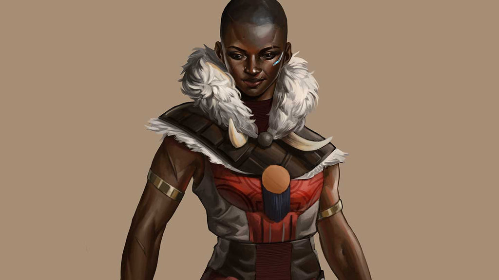 Nubia, Supreme Commander of Heaven's Fall