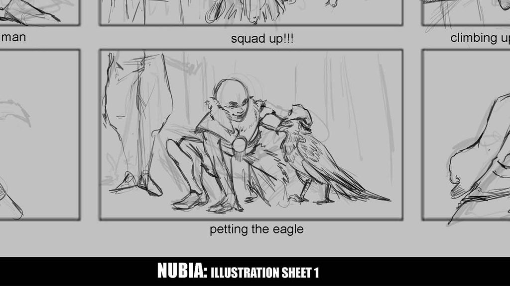 Patreon Exclusive - Nubia Illustration Sheet #1