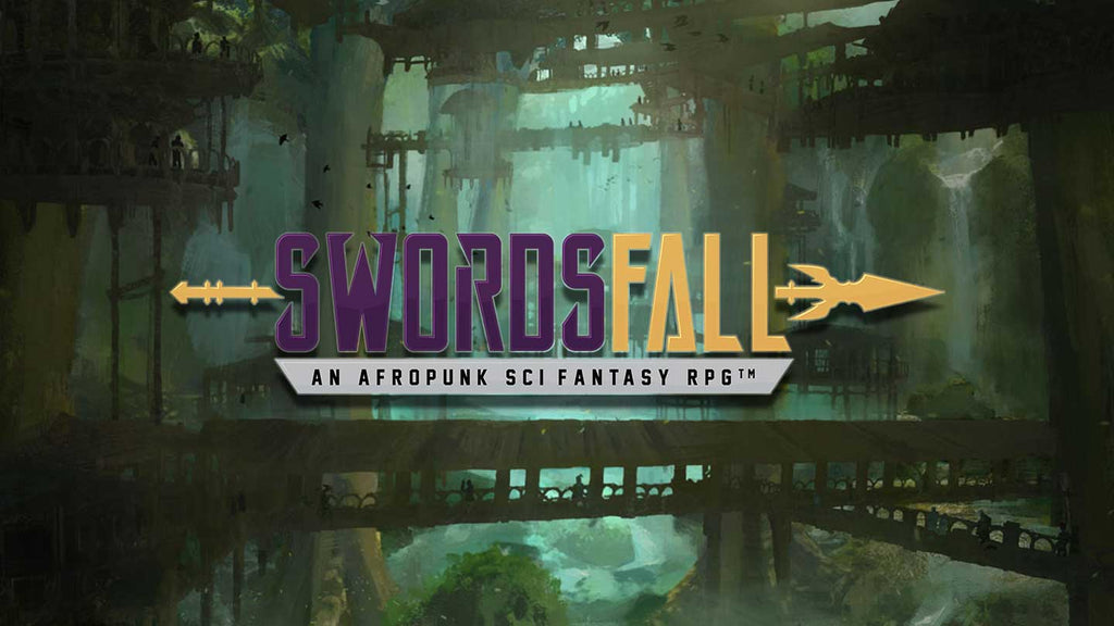 Swordsfall: The RPG - What's In The Box??