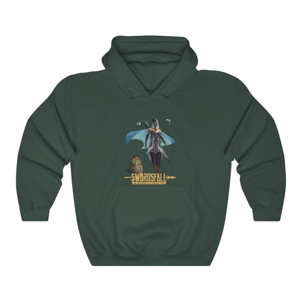 Isola of the Minos (Full Body) Hoodie - Swordsfall
