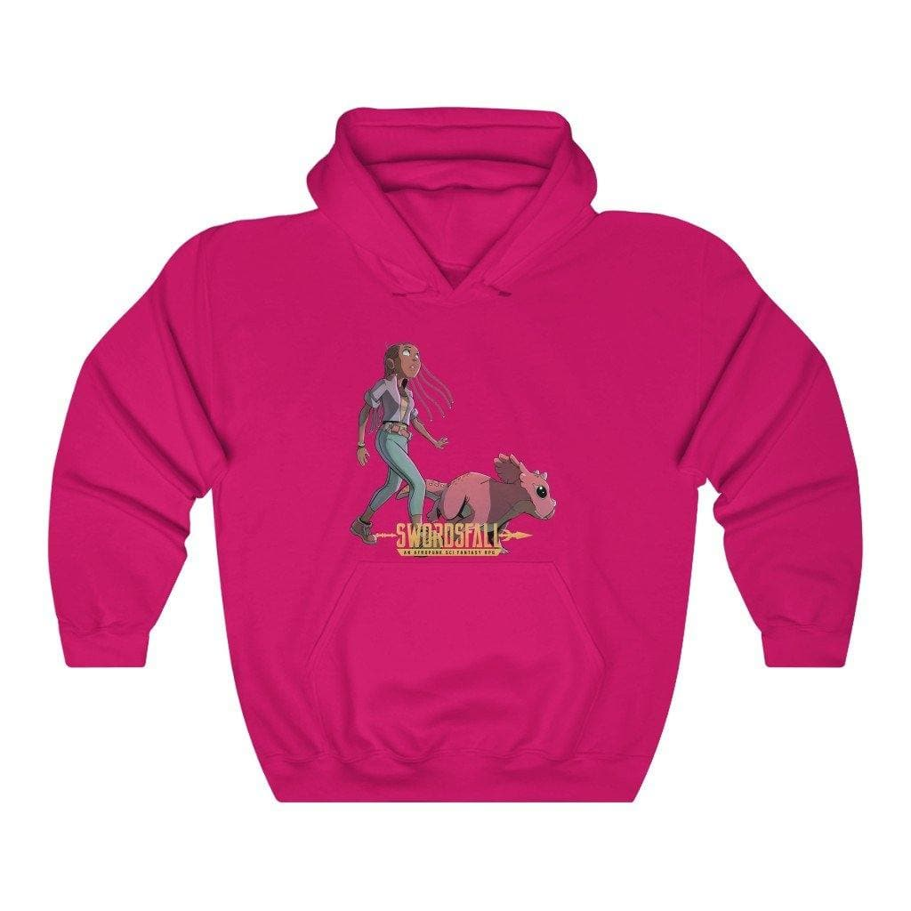 A Girl and Her Tritop Hoodie - Swordsfall