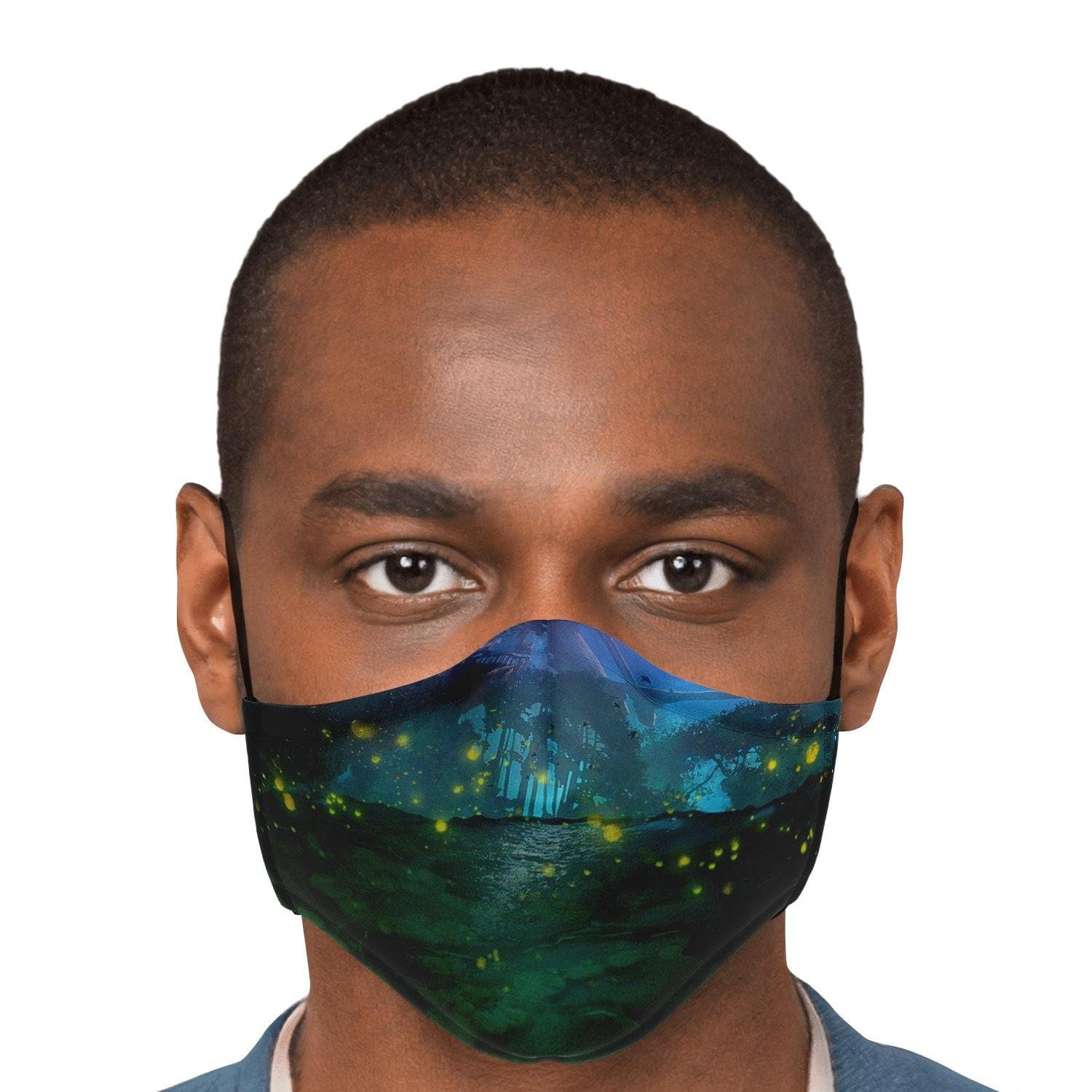 Garuda Night Face Mask with Nose Clip - Swordsfall