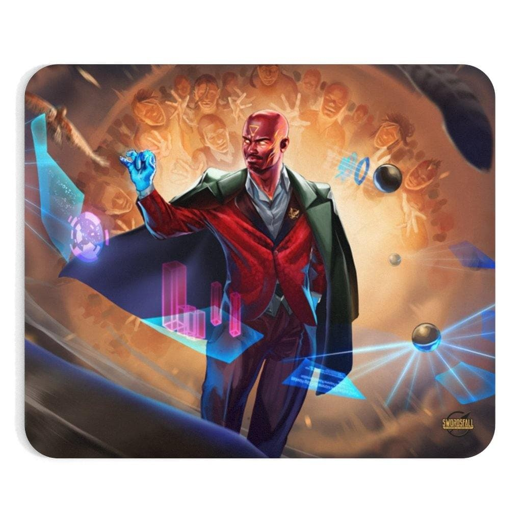 Hawken Suit and Tie Mousepad - Swordsfall