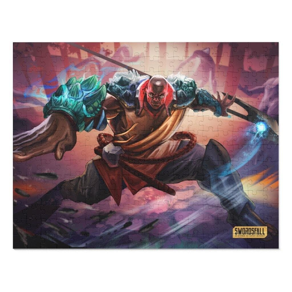 Kalali of the East 252 Piece Puzzle - Swordsfall