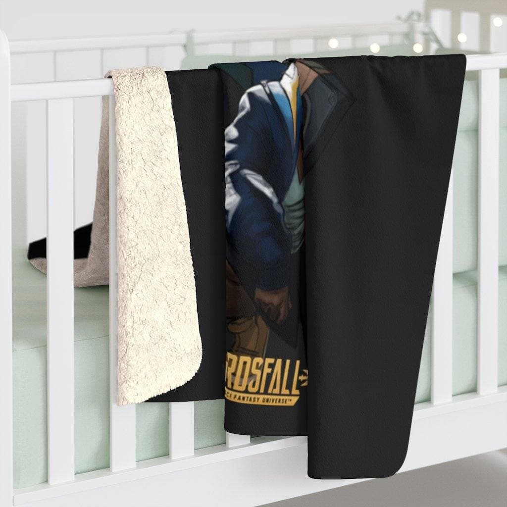 Land Raider Sherpa Fleece Blanket - Swordsfall