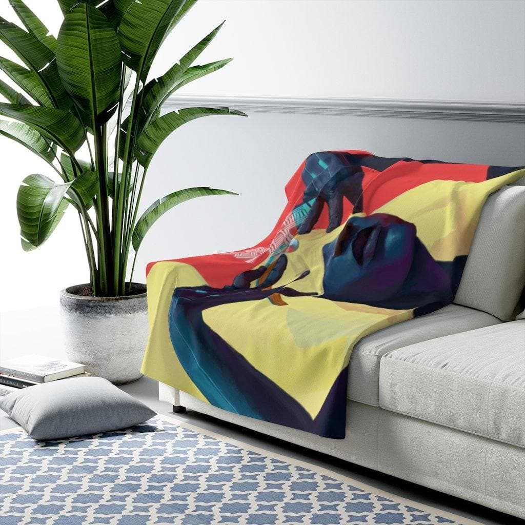 Dreamweaver Sherpa Fleece Blanket - Swordsfall