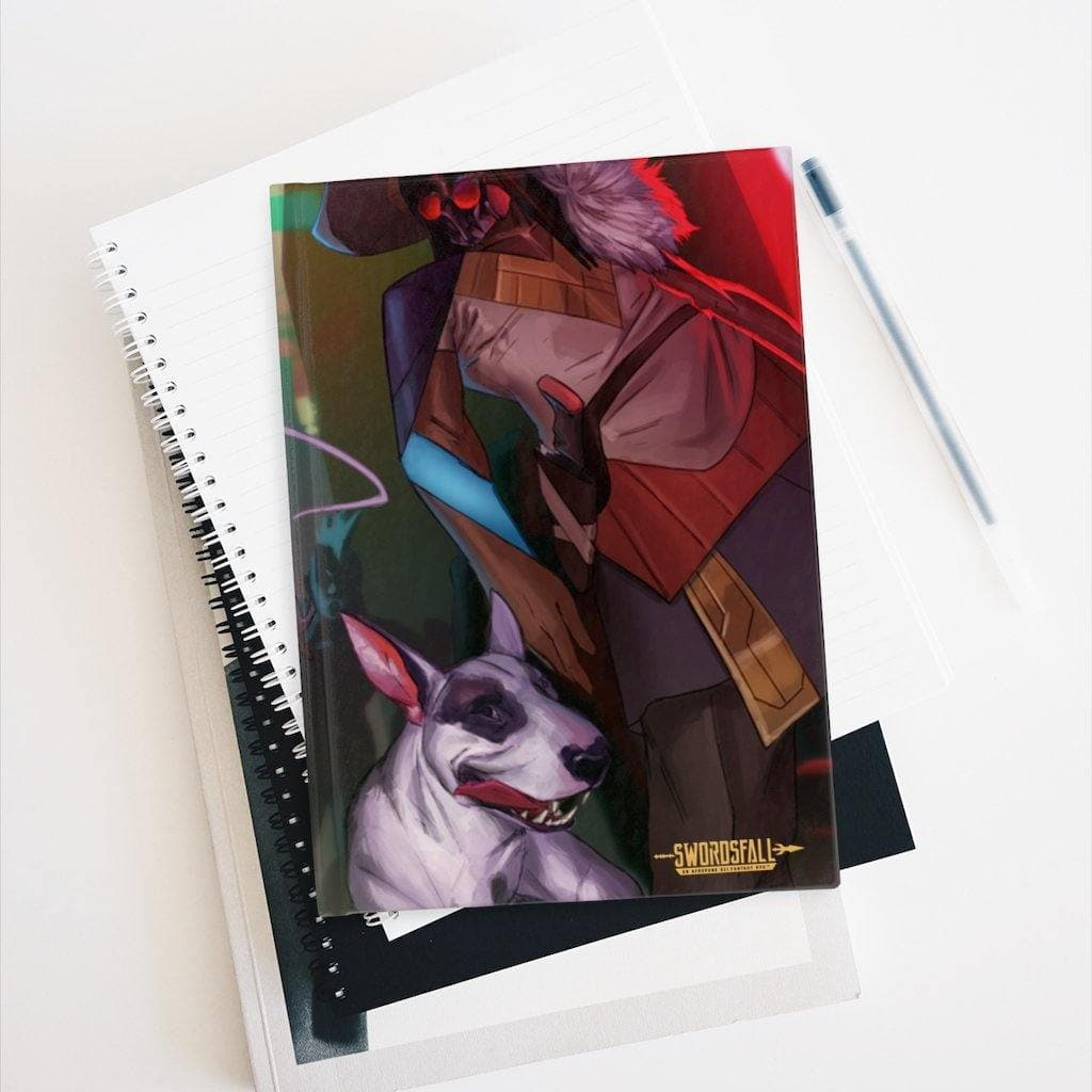 The Grimm Hardcover Journal (Blank) - Swordsfall