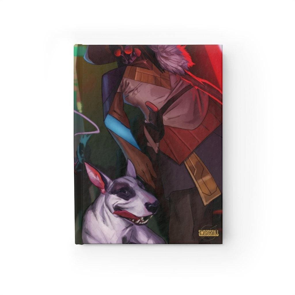 The Grimm Hardcover Journal (Ruled Line) - Swordsfall