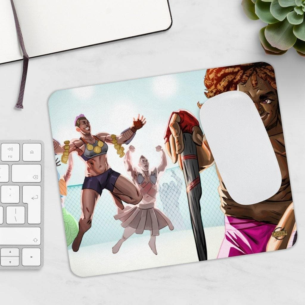 Dihoma Culture Mousepad - Swordsfall