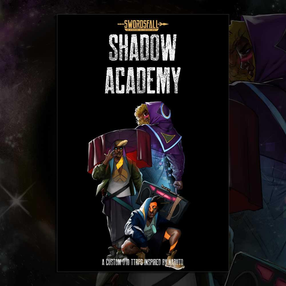 Shadow Academy - A Naruto Inspired Swordsfall Campaign Setting (Early Access)