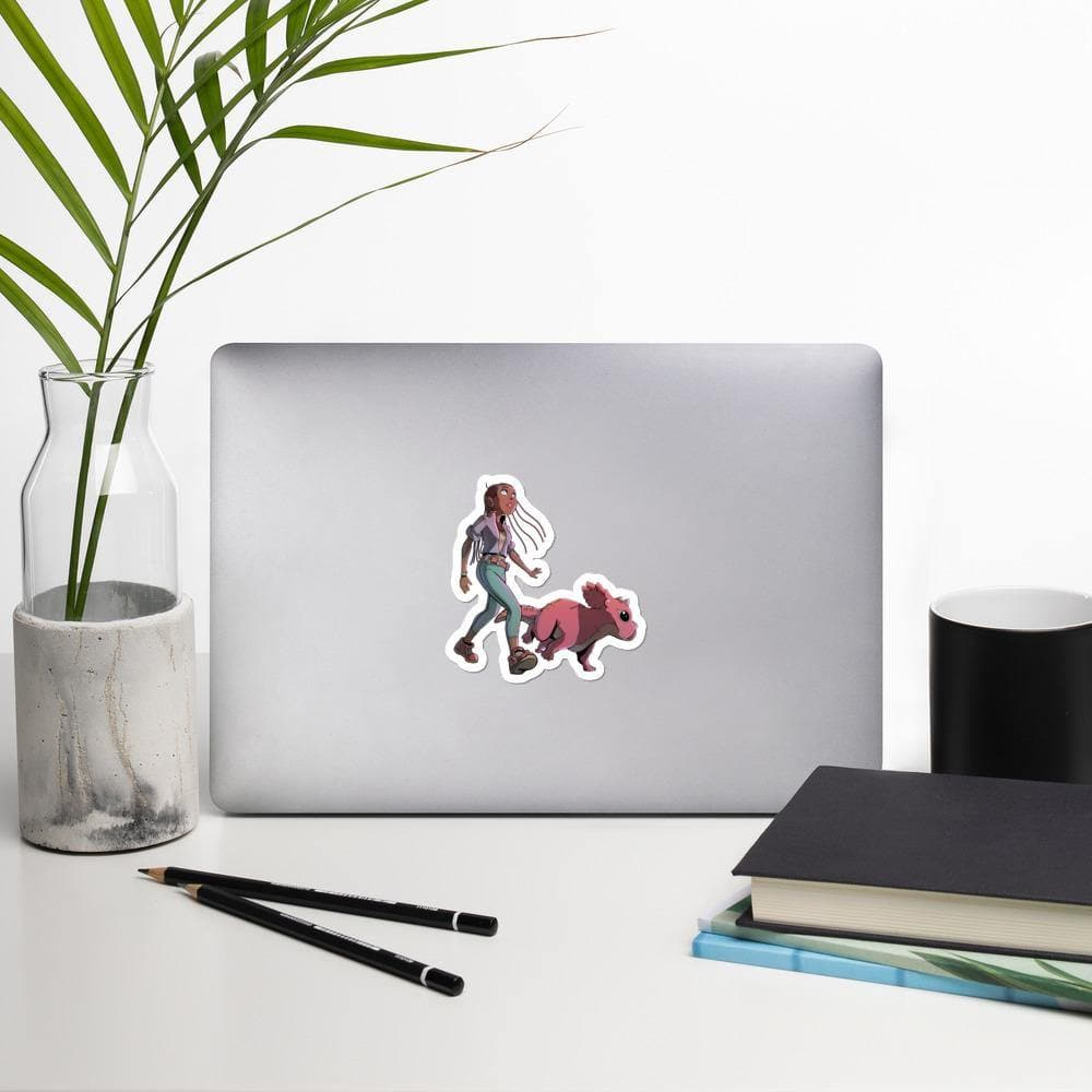 A Girl and Her Tritop Stickers - Swordsfall