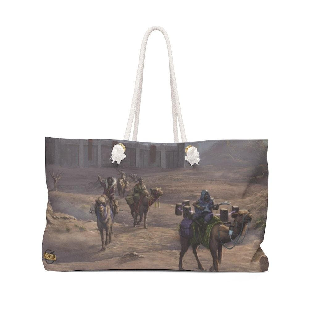 Griot Wanderers in Vinyata Weekender Bag - Swordsfall