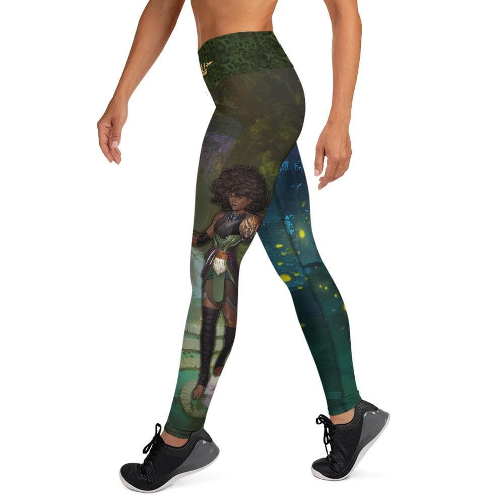 Alara (Garuda Night) Yoga Leggings - Swordsfall