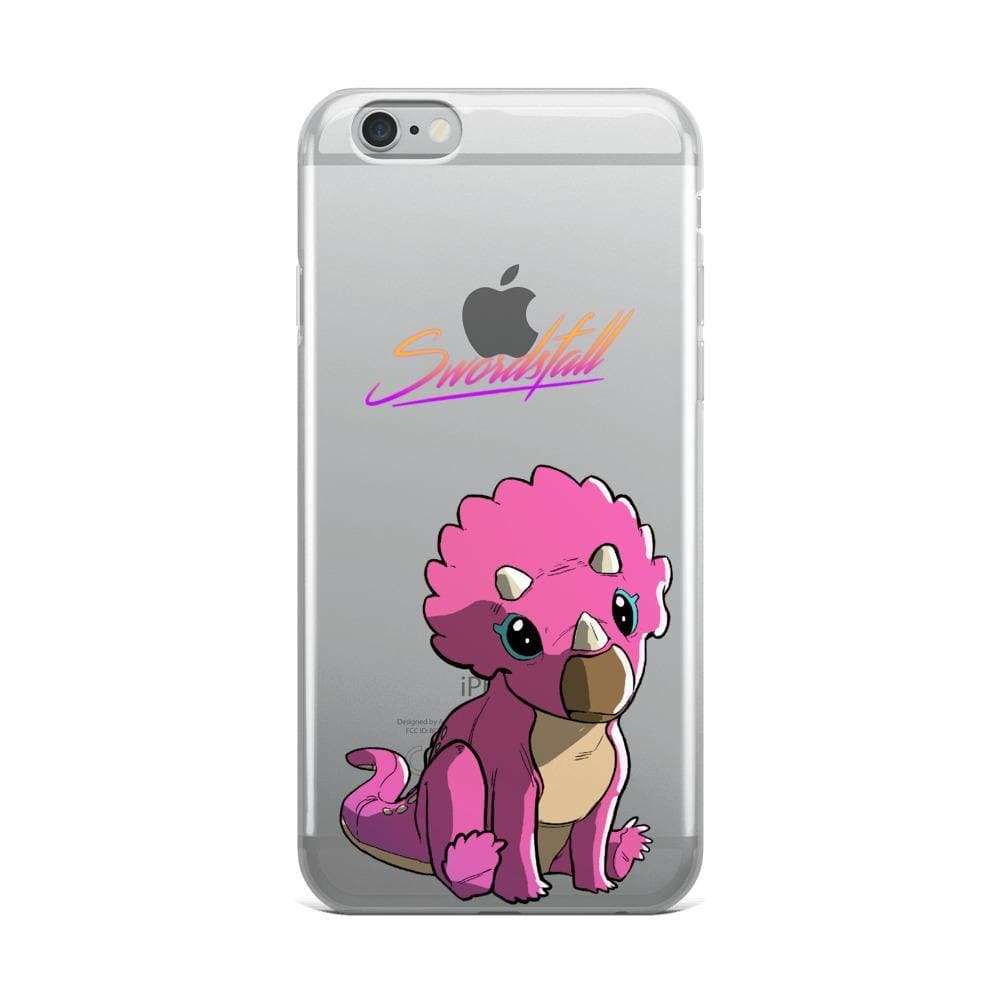 Baby Tritop Clear iPhone Case - Swordsfall