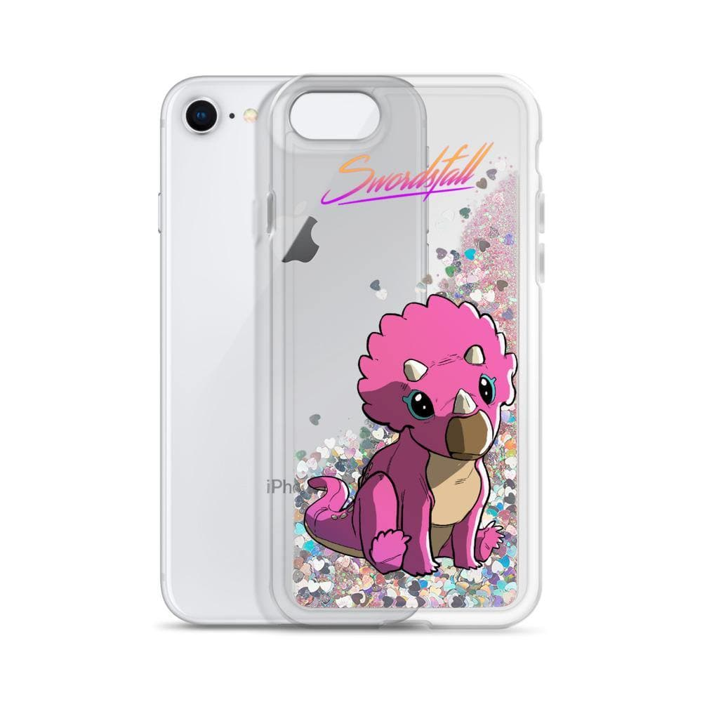 Baby Tritop Liquid Glitter iPhone Case - Swordsfall