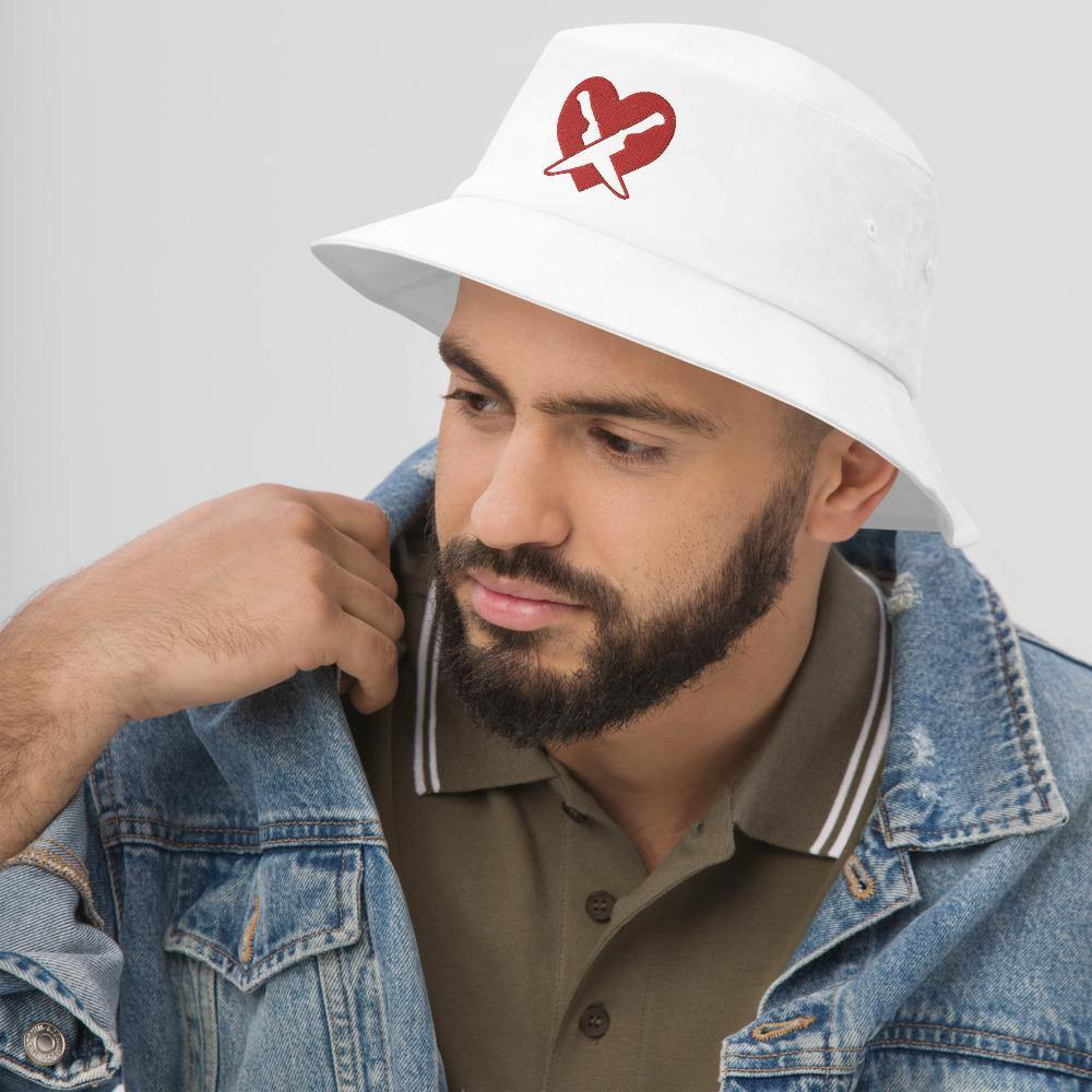 Romantically Interested in Knives (Dual Knives) Bucket Hat - Swordsfall