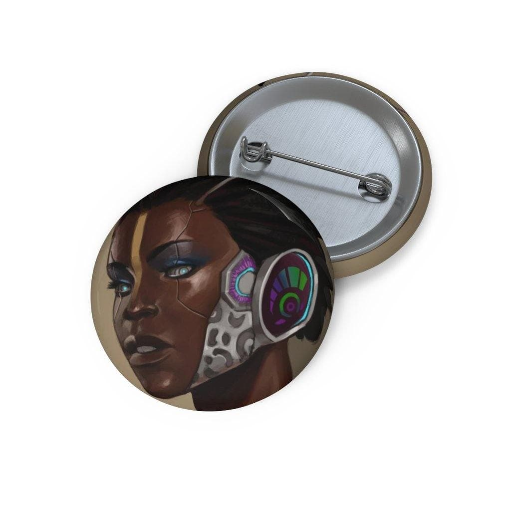 Minos Portrait Pin Button - Swordsfall