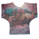 Kalali of the East Batwing Top - Swordsfall