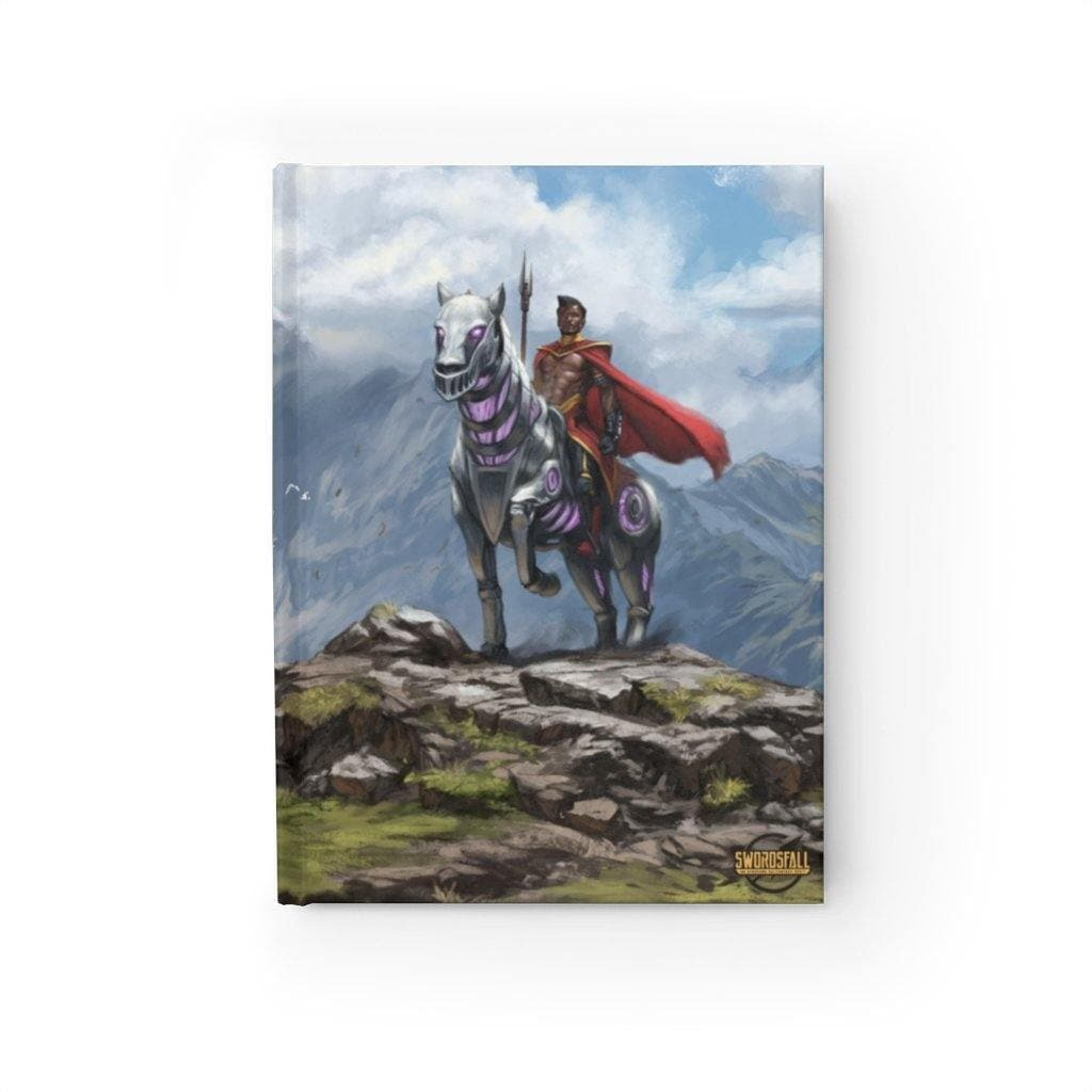 Abyssisian and Ryder Hardcover Journal (Ruled Line) - Swordsfall
