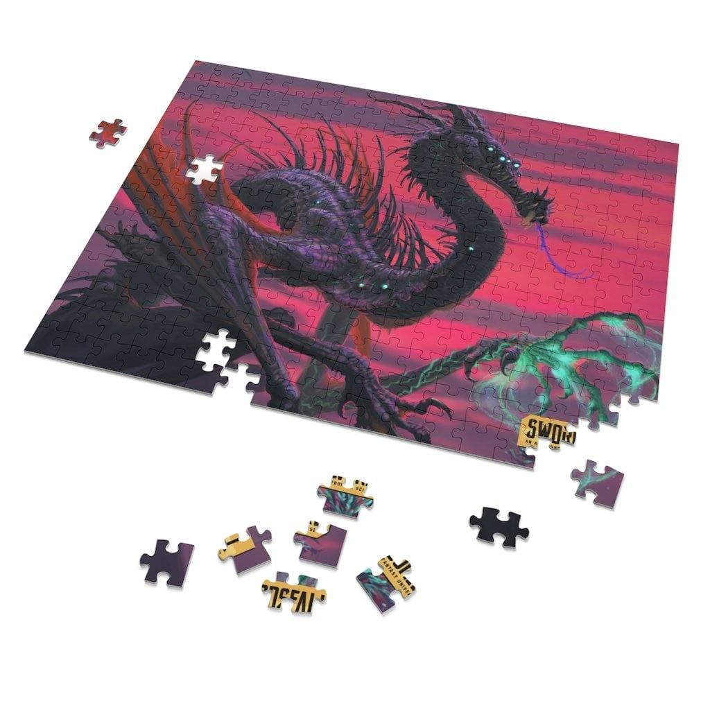 Selvans, the Eternal Decay 252 Piece Puzzle - Swordsfall