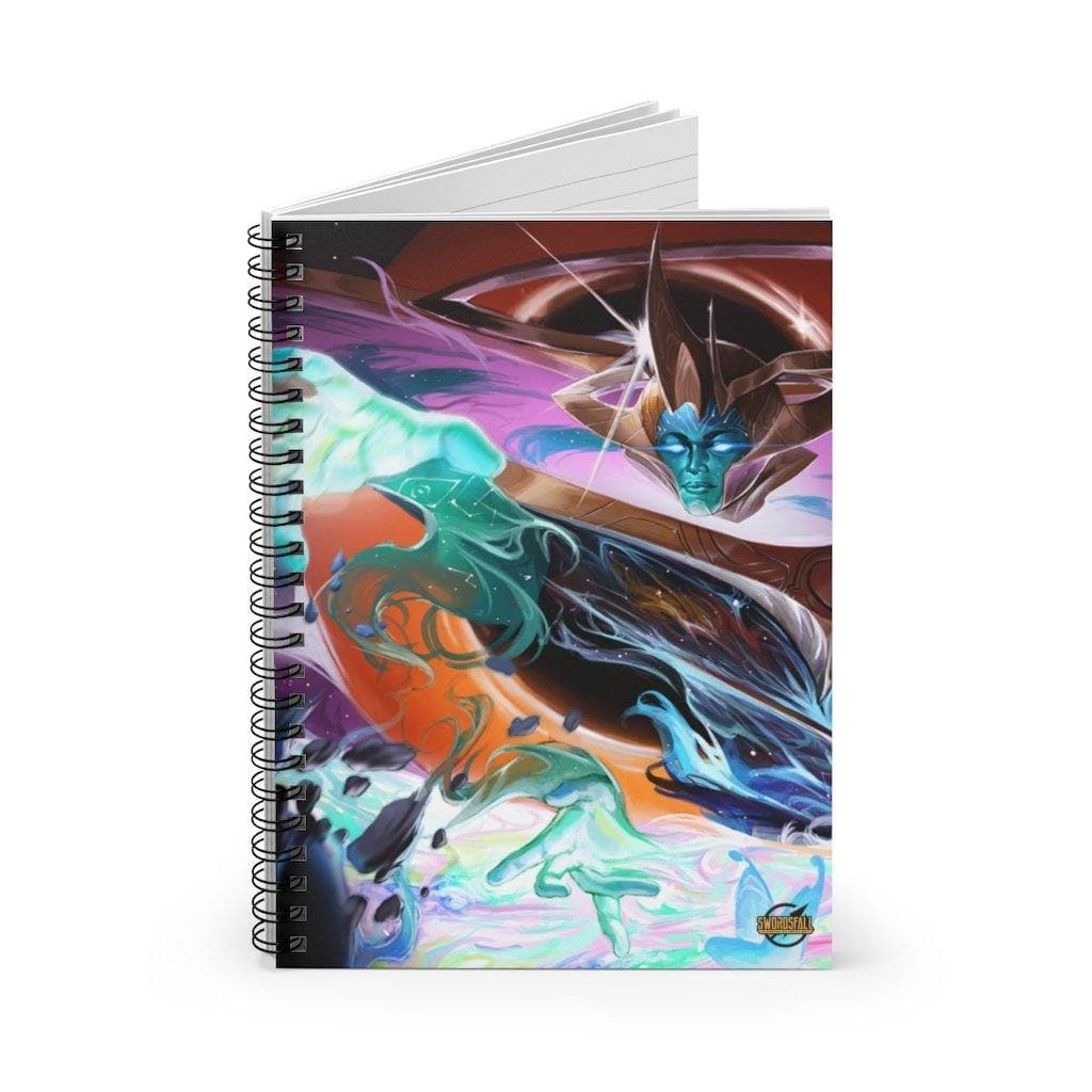 Ishvana Crafts Tikor Spiral Notebook (Ruled Line) - Swordsfall