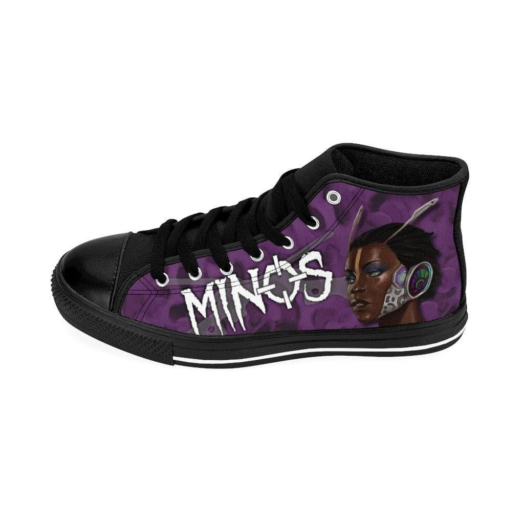 Minos Grey Camo Hightop - Swordsfall