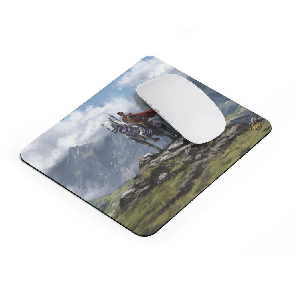 Abyssisian and Ryder Mousepad - Swordsfall