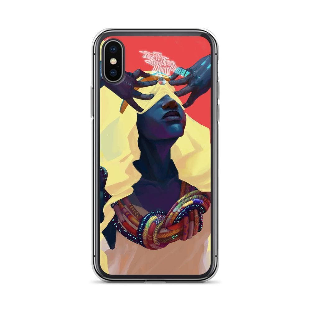 Dreamweaver Clear iPhone Case - Swordsfall