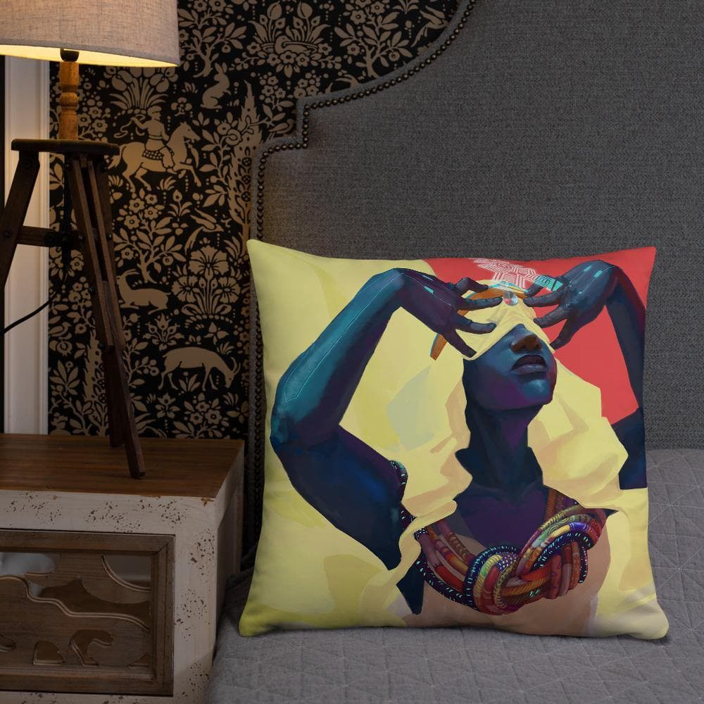 Dreamweaver Pillow - Swordsfall