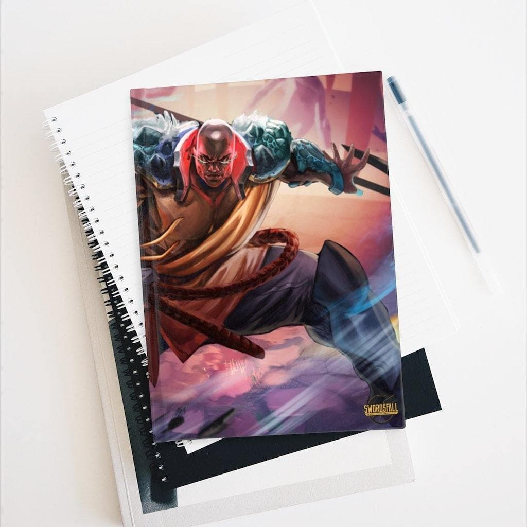 Kalali of the East Hardcover Journal (Ruled Line) - Swordsfall