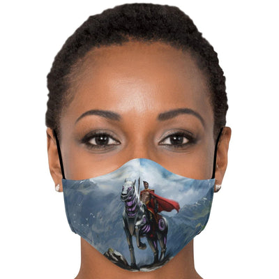 Abyssinian & Ryder Face Mask with Nose Clip