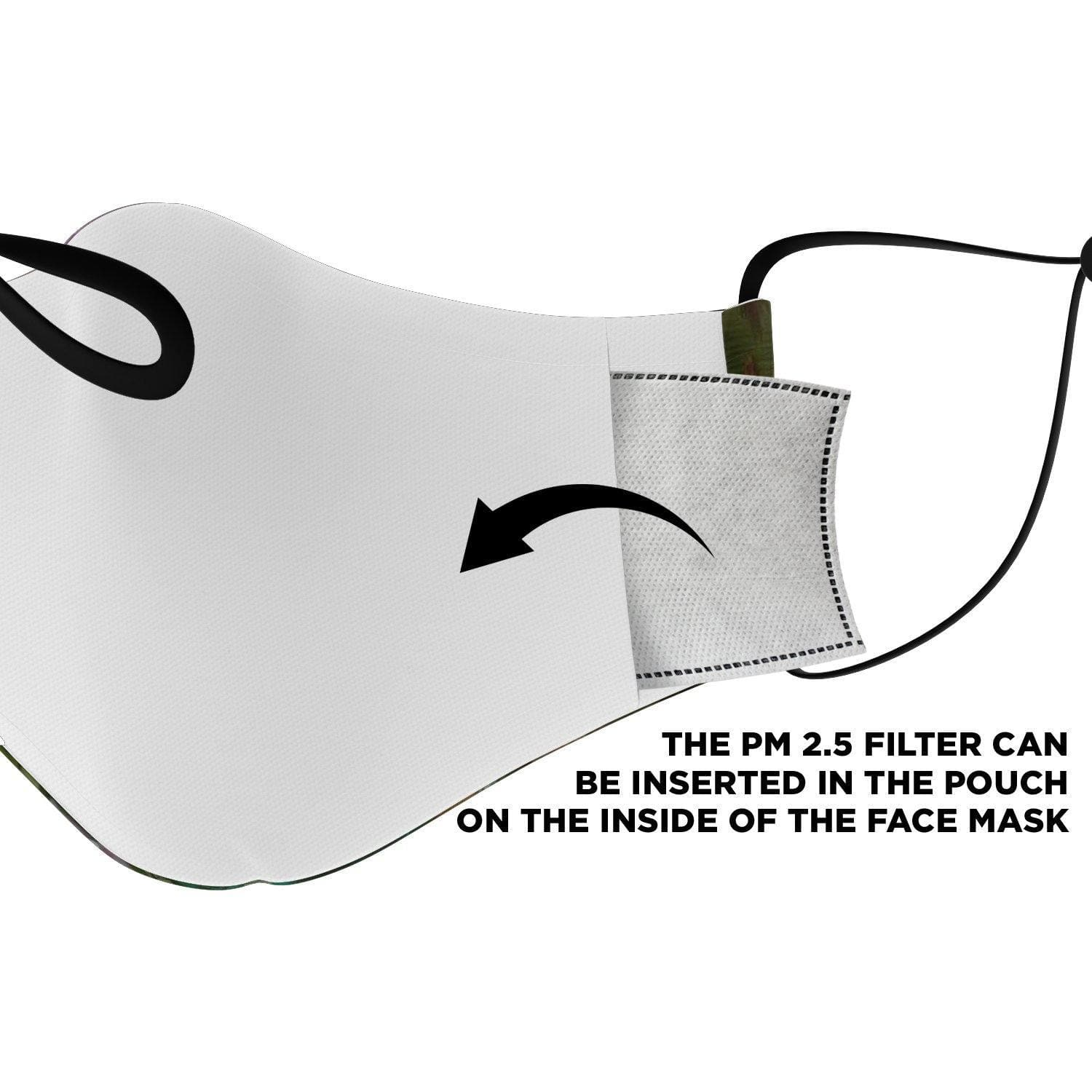 Garuda Village Face Mask with Nose Clip - Swordsfall