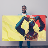 Dreamweaver Sublimation Flag - Swordsfall