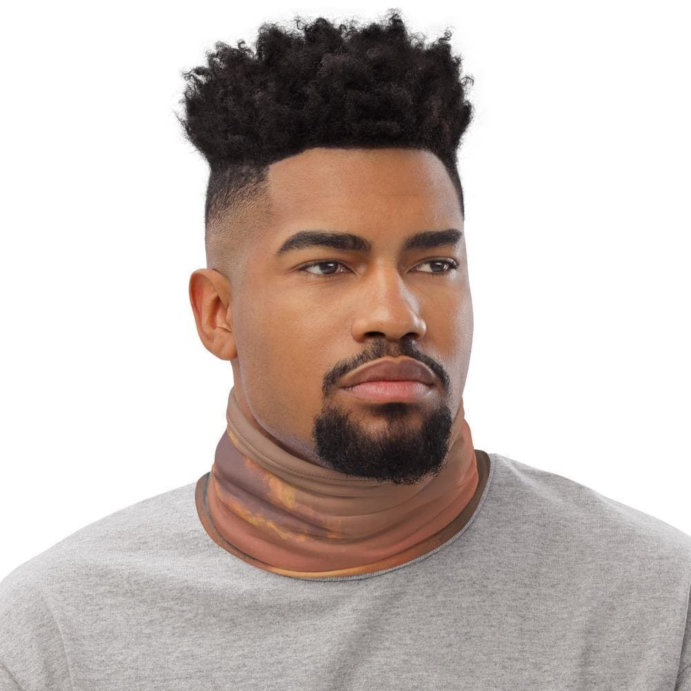 Evening Hoverbike Neck Gaiter - Swordsfall