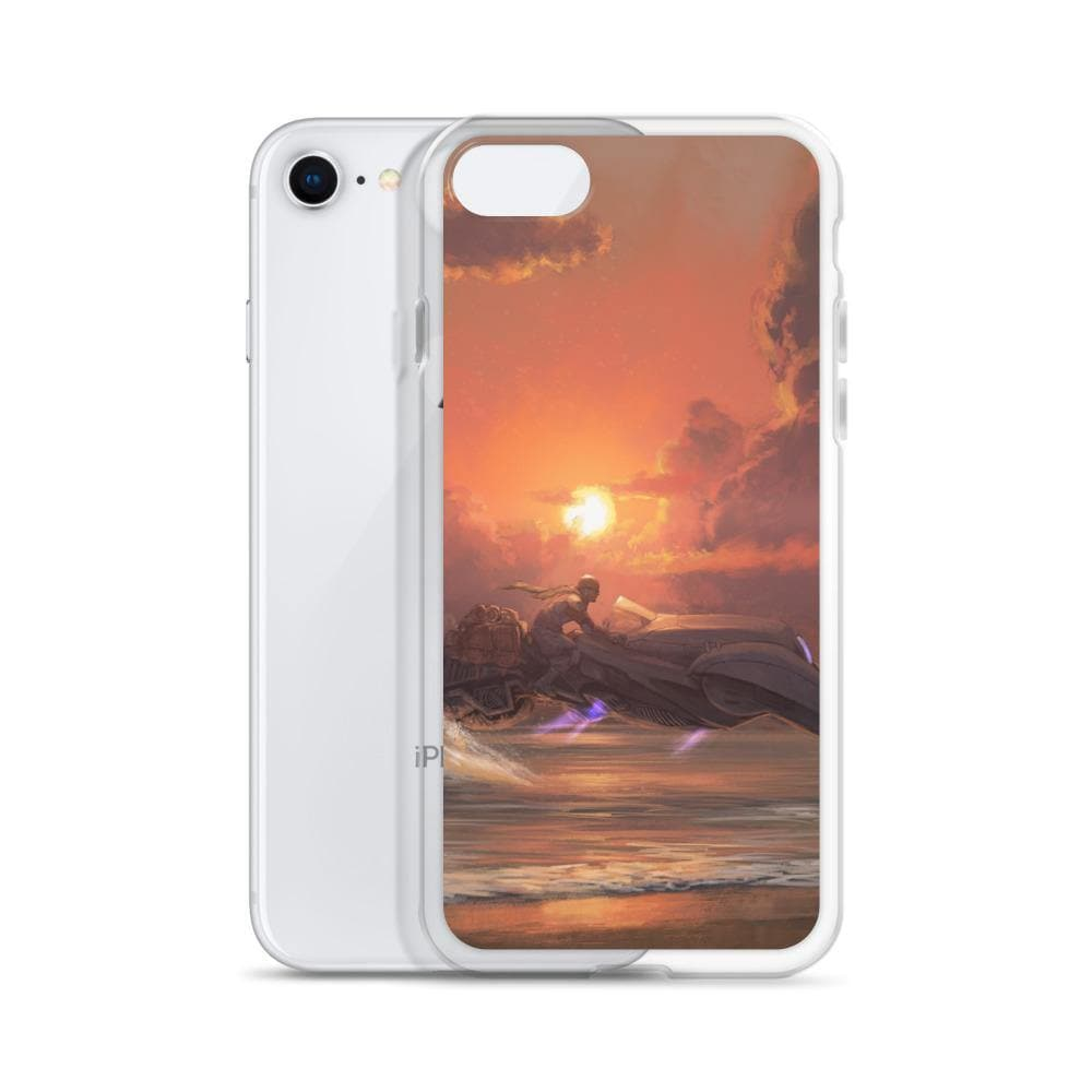 Evening Hoverride Liquid Glitter Phone Case - Swordsfall
