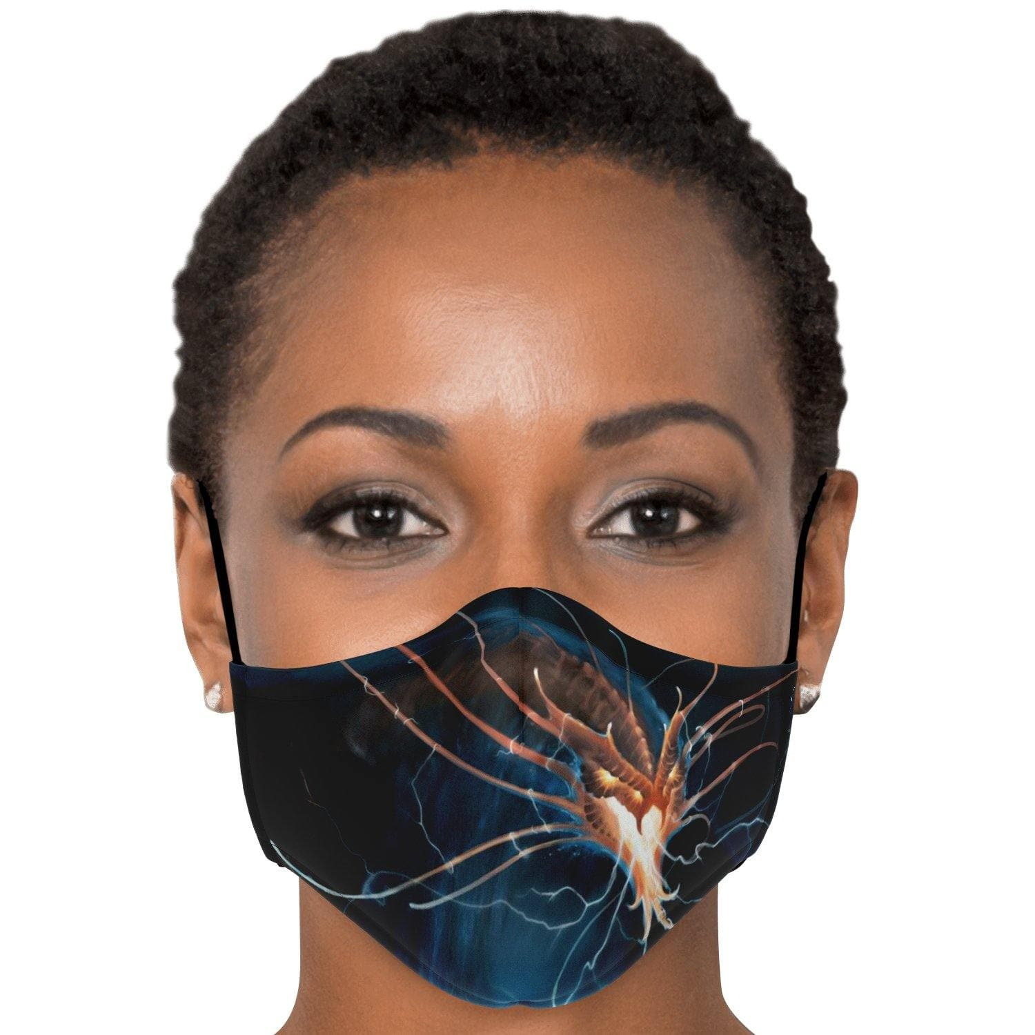 Inkyaban, the Lord of Storms Face Mask with Nose Clip - Swordsfall