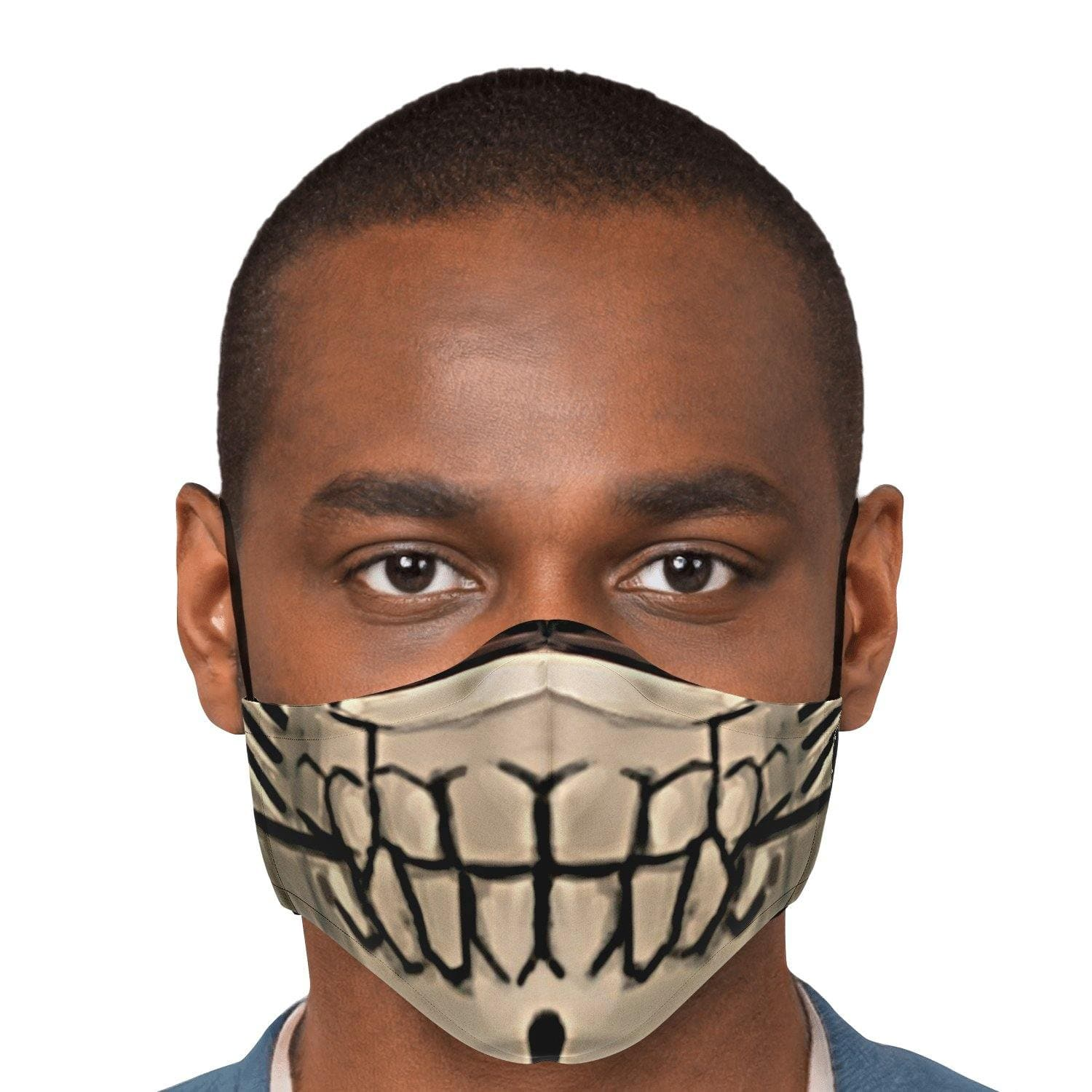 Ida Sabertooth Mouth Face Mask with Nose Clip - Swordsfall