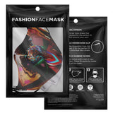 Mime, the Divinity of Wisdom Face Mask with Nose Clip - Swordsfall