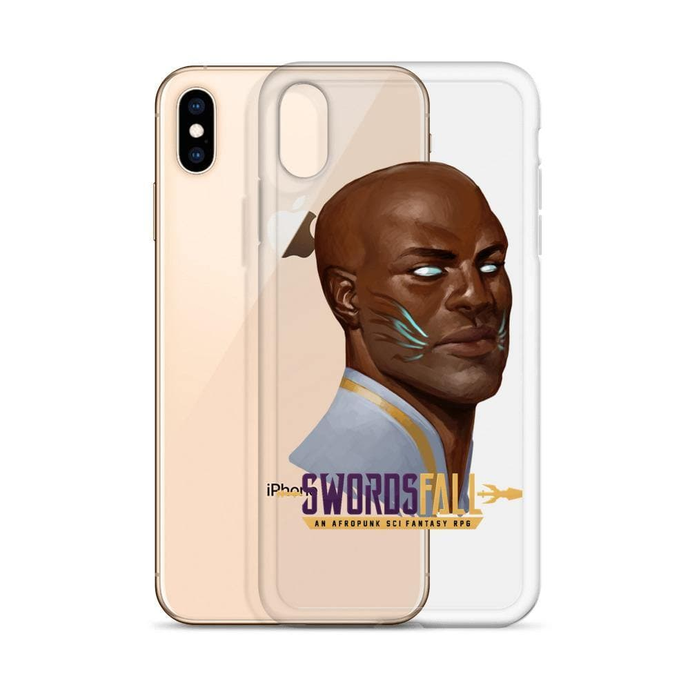 Griot Portrait iPhone Case - Swordsfall