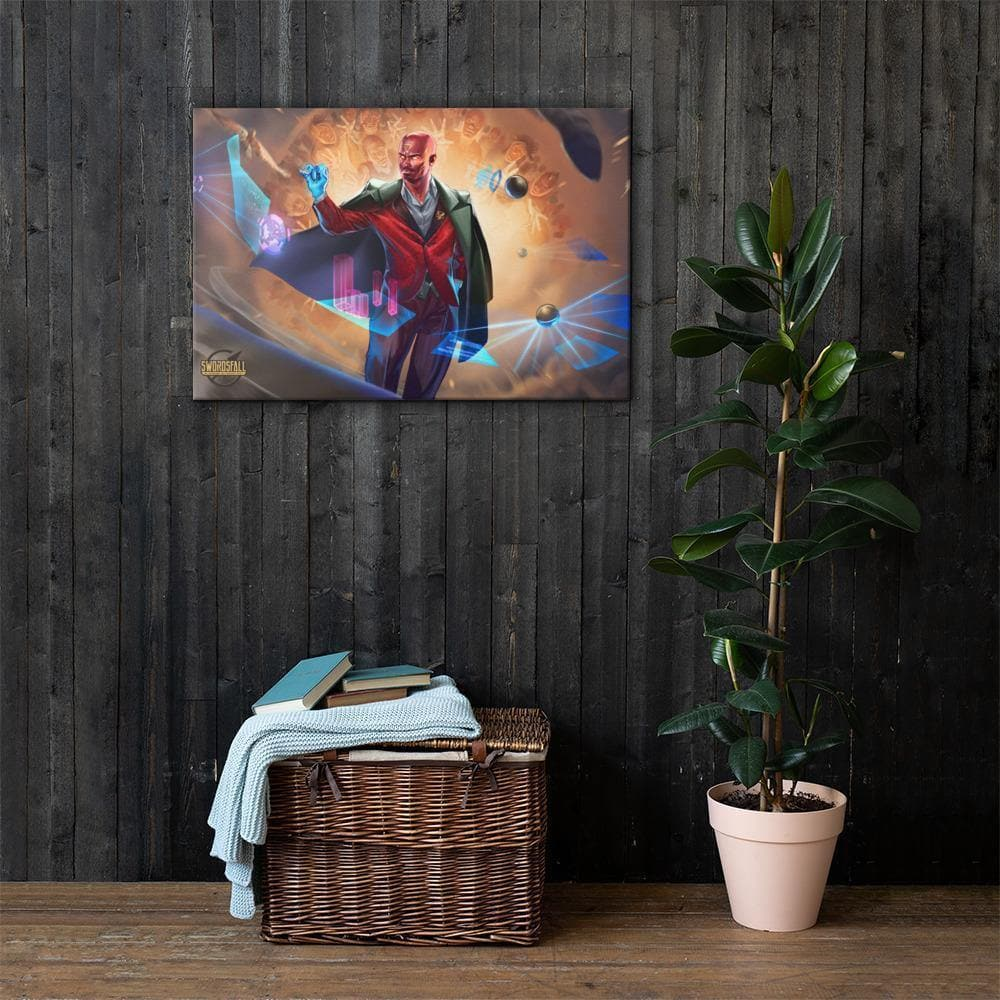Hawken, Suit and Tie Canvas Print - Swordsfall