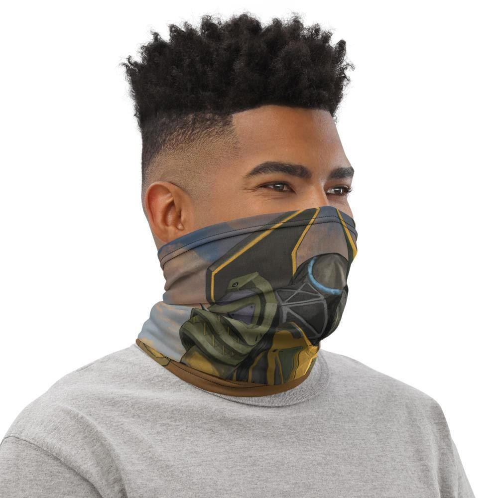 "Ida ""Sabertooth"" Mecha Neck Gaiter - Swordsfall"