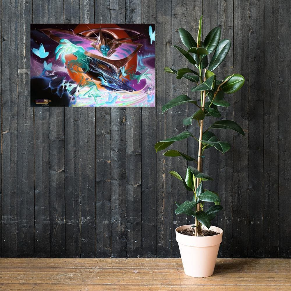 Ishvana Crafts Tikor Art Print - Swordsfall