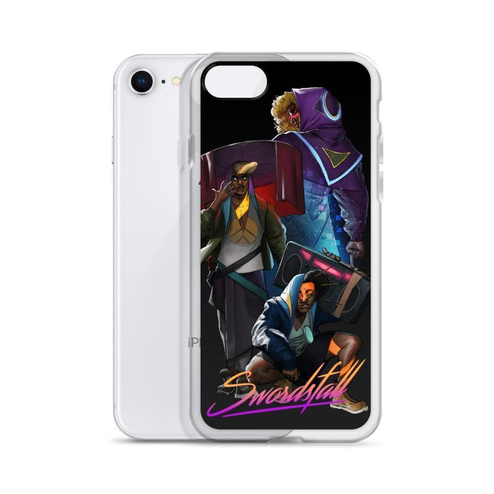 Land Raider Liquid Glitter iPhone Case - Swordsfall