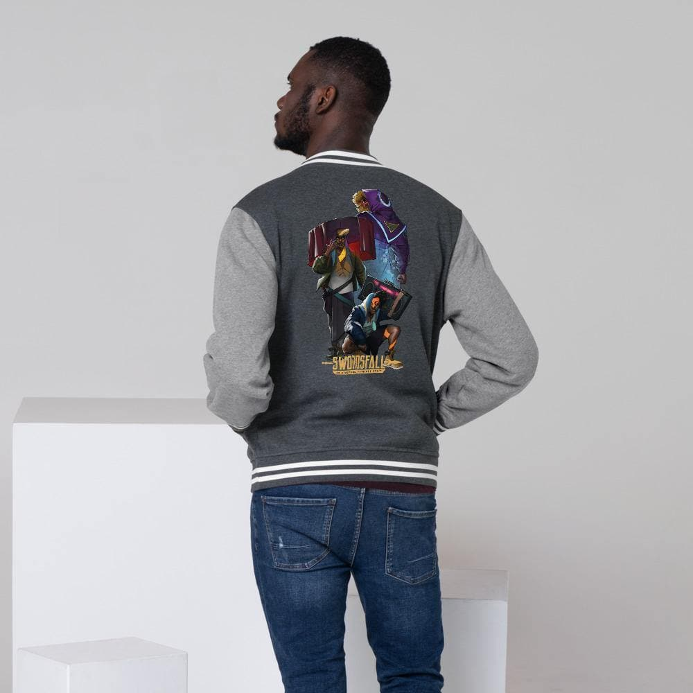 Land Raiders Letterman Jacket - Swordsfall