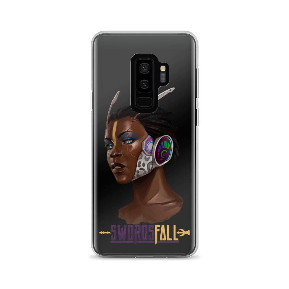 Minos Portrait Clear Samsung Case - Swordsfall