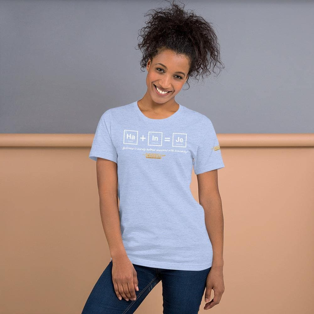 """Jealousy is merely Hatred seasoned with Insecurity"" T-Shirt - Swordsfall"
